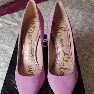 NEW Sam Edelman pink suede pumps